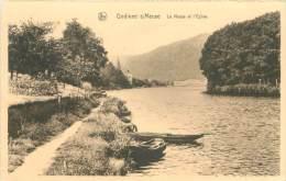 GODINNE S/MEUSE - La Meuse Et L'Eglise - Zonder Classificatie