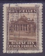 BELGIË/BELGIQUE:1935: Vignette/Cinderella : ## BRUXELLES1935: Exposition Universelle ##:  ARCHITECTURE, - 1935 – Brussels (Belgium)