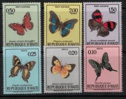 Haiti 1969 SC 625-627 MNH Butterflies - Haiti
