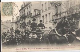 Entrée De Mgr Luçon à Reims ( 05 Avril 1906)  Le Cortège Se Rendant à L' Archvêché CPA 1906 - Manifestations