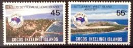 Cocos Islands  -   MNH -  1984 ~  # 119/120 - Cocos (Keeling) Islands