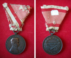 AUTRICHE - HONGRIE (Empire Austro-hongrois) - Médaille De La Bravoure (Charles) - Autriche