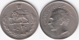 Iran 20 Rials 1975 KM#1181 - Used - Irán