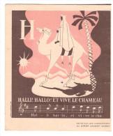 Image (non Chromo) Halli Hallo Et Vive Le Chameau  SIROP LAXATIF GOBEY. (PPP339) - Chromos