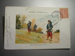 Armée Française Infanterie De Ligne - Régiments