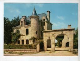 Pluvigner Château De Rimaison - Noms Sur La CP = Ducreux De Pluvigner - 1989 - Flamme Pluvigner Partielle - Pluvigner