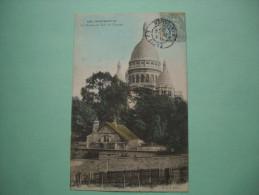 Cp MONTMARTRE 1907 75 LA MAISON AU TOIT DE CHAUME はがき MAPS Postcard Postkarte Cartolina Postal - Frankrijk