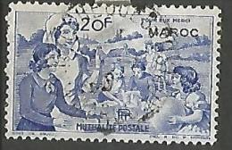 MAROC  VIGNETTE DE 20F OBL