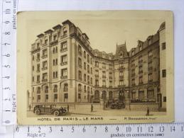 CPA (72) Sarthe - LE MANS - Hôtel De Paris - Le Mans