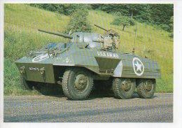 REF 229 CPM Militaria Musée Automobile Militaire CLERES 76 GREYHOUND AM M8 - Ausrüstung