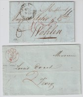 """Schweiz, 1835, 1840, 2 Bfe. """" BULLE """"  ,  #2921 - Suisse"""