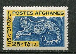 (cl 6 - P.1) Afghanistan ** N° 756 (ref. Michel Au Dos) - Panthère Des Neiges - Afghanistan