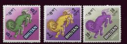 (cl 6 - P.1)  Bhoutan ** N° 164 - 169 + PA 29 (ref. Michel Au Dos) - Panthère Des Neiges - - Bhután