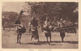 ZAMBIE - ZAMBEZE - Tambours Et Silimba, Musique, Folklore - Zambia