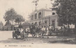 CPA - Pontorson - La Gare - Pontorson