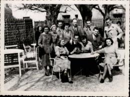 77 - BARBIZON - PHOTO - Visite Des Linguist Club De Londres à L'Auberge De La Clef D'Or - Lieux