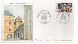 REF X7 FDC First Day Cover Enveloppe 1er Jour REDON 1987 - FDC