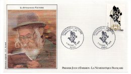 REF X7 FDC First Day Cover Enveloppe 1er Jour La Synagogue Victoire Judaica - FDC