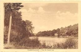 Couillet-Loverval - Vue Du Grand Lac        ( 2 Scans ) - Charleroi
