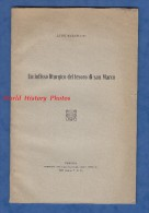 Livre Ancien De 1927 Avec Photos - Un Infinisso Liturgico Del Tesoro Di San Marco Par Luigi Marangoni - VENEZIA VENISE - Histoire