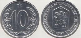 CECOSLOVACCHIA 10 Haleru 1969 KM#49.1 - Used - Cecoslovacchia