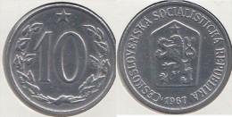 CECOSLOVACCHIA 10 Haleru 1967 KM#49.1 - Used - Tschechoslowakei