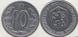 CECOSLOVACCHIA 10 Haleru 1962 KM#49.1 - Used - Cecoslovacchia