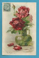 CPA Meissner & Buch 1273 Vase Fleurs Roses Illustrateur Catharina KLEIN - Klein, Catharina