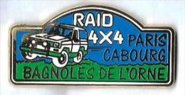 R7 - RAID 4X4 PARIS-CABOURG-BAGNOLES DE L'ORNE - Verso : ALCARA - Rallye