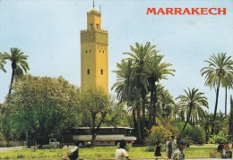 C P M-C P S M---MAROC--MARRAKECH---vue Typique--voir 2 Scans - Marrakech