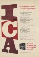 # ROYAL DUTCH SHELL OIL 1950s Car Italy Advert Pub Pubblicità Reklame Huile Olio Aceite Ol Supershell - Vervoer
