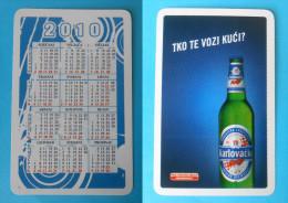 RARLOVACKO RALLY BEER ( Croatian Small Calendar ) Petit Calendrier Calendario Kalender * Bière Bier Cerveza Birra - Small : 2001-...