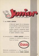 # EXXON MOBIL ESSO OIL 1960s Car Italy Advert Pub Pubblicità Reklame Huile Olio Aceite Ol - Transportation