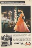 # EXXON MOBIL ESSO OIL 1960s Car Italy Advert Pub Pubblicità Reklame Huile Olio Aceite Ol - Other