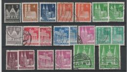 Allemagne 1948 - *  & Obl Michel 73/77,80,82,85,89,90,92,93,94,96,97- EG - Britische Zone - - American/British Zone