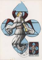 FDC- TIMBRE - COB 1519 - Du 13.12.1969  - Solidarité. Vitraux D´Eglises - FDC