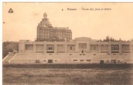 CPA - BELGIQUE - NAMUR - Stade Des Jeux Et Hotel - 1910 - Namur