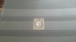 LOT 268115 TIMBRE DE FRANCE OBLITERE N�3 VALEUR 60 EUROS
