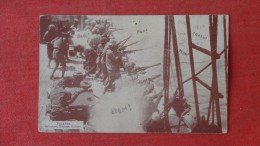 Pirates Attacking Spanish  Gallon--  Tack Hole Top And Crease As Is ------   - -- --ref 1907 - Postcards