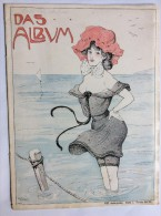 "OLD MAGAZINE  "" DAS ALBUM  ""    FRONT COVER  ILLUSTRATED :  CARL  JOZSA - Boeken, Tijdschriften, Stripverhalen"