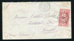 NEW HEBRIDES NEW HEBRIDES FRANCE INVERTED POSTMARK 1912 - Zonder Classificatie