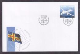 Aland Finland 2007.  Envelope Cancelled - Aland