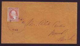 U.S.A. WASHINGTON MARLON WASHINGTON NEW YORK - Postal History