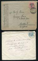 JUDAICA BELGIUM GREAT BRITAIN GERMANY 1919/1922 - Belgium