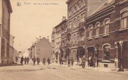 Evere  Rue De La Plaine D'aviation Bien Animée Circulé En 1925 - Evere