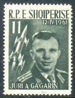 ALBANIA 1962 - 11 L. Used No Postmark. - Albanien