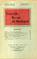 Nouvelle Revue De Bretagne N°5   1951 Le Denarquement De Jean 4 En 1379 - Bretagne