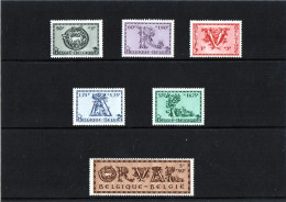 B - 1943 Belgio - Abbazia Di Orval - Unused Stamps