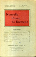 Nouvelle Revue De Bretagne N°3  1953  Dinan En 1693, Le Patronyme Toudouze - Bretagne