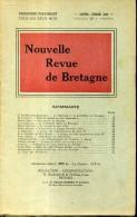 Nouvelle Revue De Bretagne N°1  1952  Le Debarquement De Jean 4 Bourreau Et Fuillotine En Bretagne - Bretagne
